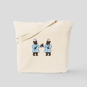 Veterinarian Bears Tote Bag