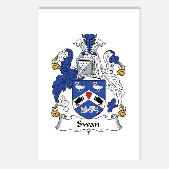 Swan Postcards (Package of 8)