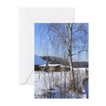Winter Greeting Cards 5 X 7 In (pk Of 10)