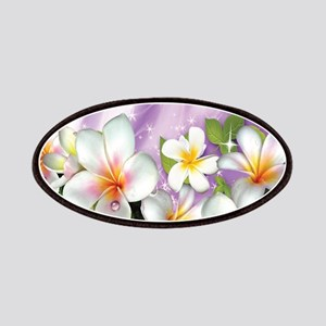 Plumeria Floral Patches