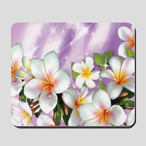 Plumeria Floral Mousepad