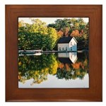 Fall At Jones Falls - Framed Tile