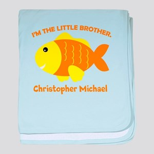 Little Brother Fish Baby Blanket