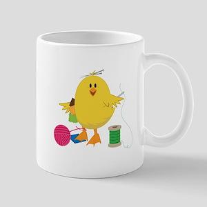 Sewing Chick Mugs