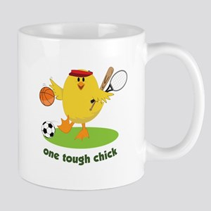 One Tough Chick Mugs