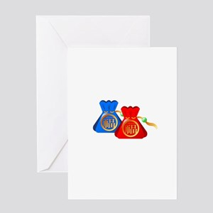 Chinese Gift Puch Bag Greeting Cards