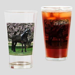 Friesian Sparkles Drinking Glass