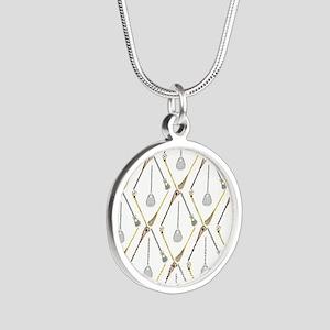 Five Lacrosse Sticks Necklaces