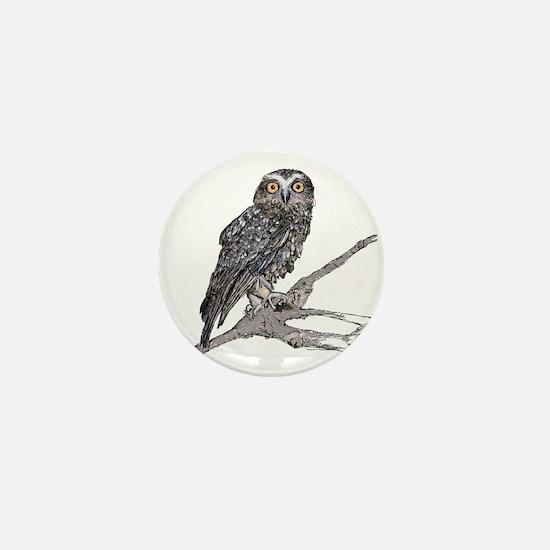 Owl Mini Button (10 pack)