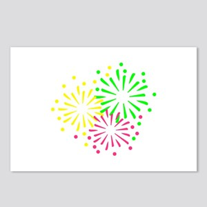 Colored Fireworks Postcards (Package of 8)
