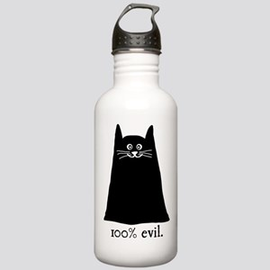 100% Evil Cat Stainless Water Bottle 1.0L