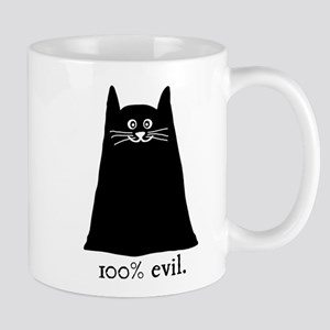 100% Evil Cat Mug