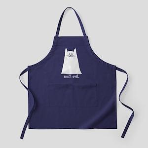 100% Evil Cat Apron (dark)