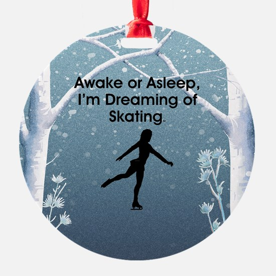 Dreaming of Skating Ornament