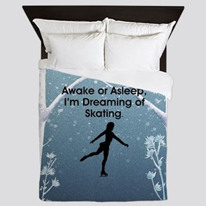 Dreaming of Skating Queen Duvet