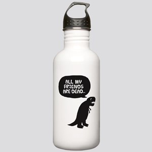 Sad Dinosaur Stainless Water Bottle 1.0L