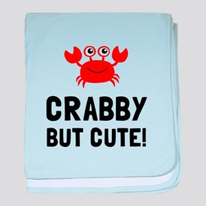 Crabby But Cute baby blanket