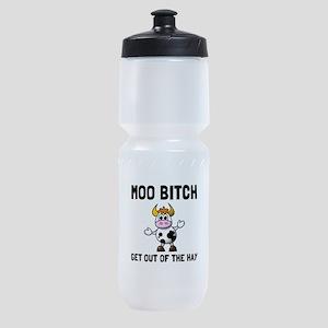 Moo Bitch Sports Bottle
