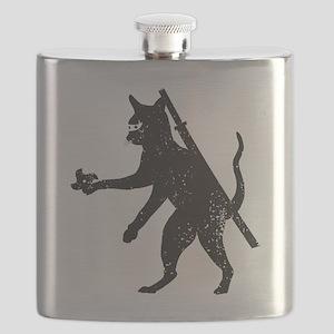 Ninja Cat Flask