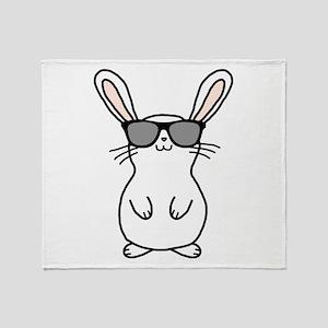 Bunny Throw Blanket