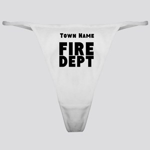 Fire Department Classic Thong
