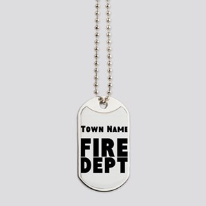 Fire Department Dog Tags