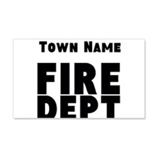 Fire Department Wall Decal