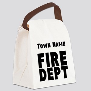 Fire Department Canvas Lunch Bag