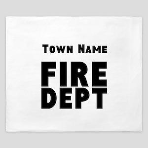 Fire Department King Duvet