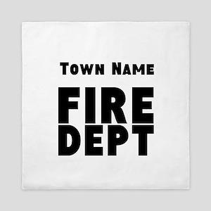 Fire Department Queen Duvet