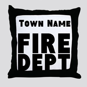 Fire Department Throw Pillow