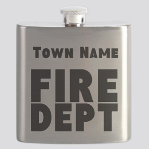 Fire Department Flask