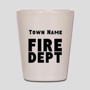 Fire Department Shot Glass