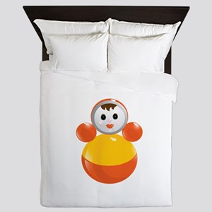 Childrens Girl Figure Toy Queen Duvet