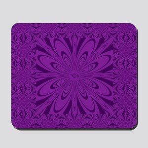 purple flower Mousepad