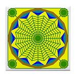 Window Flower 00 Tile Coaster