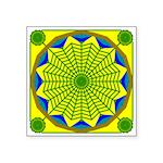 Window Flower 00 Square Sticker 3