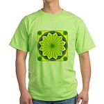 Window Flower 00 Green T-Shirt