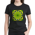 Window Flower 00 Women's Dark T-Shirt