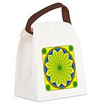 Window Flower 00 Canvas Lunch Bag
