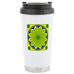 Window Flower 00 Stainless Steel Travel Mug