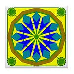 Window Flower 07 Tile Coaster