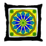 Window Flower 07 Throw Pillow