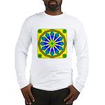 Window Flower 07 Long Sleeve T-Shirt