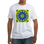 Window Flower 07 Fitted T-Shirt