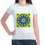 Window Flower 07 Jr. Ringer T-Shirt