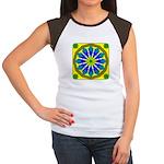 Window Flower 07 Women's Cap Sleeve T-Shirt