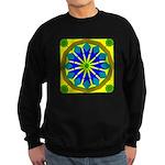 Window Flower 07 Sweatshirt (dark)