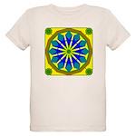 Window Flower 07 Organic Kids T-Shirt