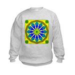Window Flower 07 Kids Sweatshirt